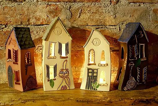 Keramický domček
