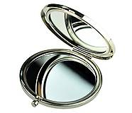 Darčeky pre svadobčanov - zrkadielko Jemná elegancia s čipkou - 6384912_