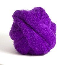 Textil - Merino vlna - 25 g (Violet) - 6387849_