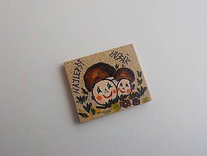 Magnetky - Darček pre hubára - 6391906_