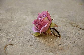 Prstene - Prsteň ...čajová ružička... - 6389086_