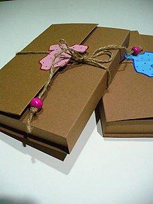 Krabičky - krabička na fotky bábätiek - 6392736_