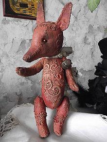 Bábiky - vintage líštička - 6390551_