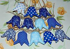 Dekorácie - Tulipány - modré - 6388378_