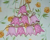 Dekorácie - Tulipány - ružové - 6388379_