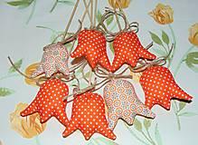 Dekorácie - Tulipány - oranžové - 6388387_
