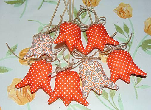 Tulipány - oranžové