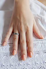 Prstene - Strieborná obrúčka - Trnava - 6390309_