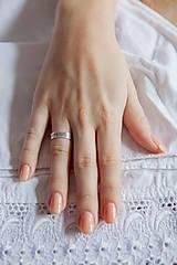 Prstene - Strieborná obrúčka - Trnava - 6390314_