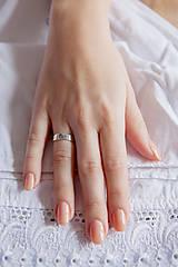 Prstene - Strieborný prsteň - Trenčín - 6390360_