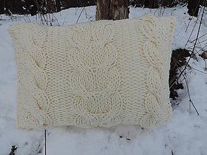 Úžitkový textil - Vankúš Zimná romanca - 6392121_