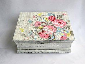 Krabičky - Krabica - Vera vintage - 6396504_