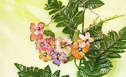 Náhrdelníky - vintage flowers 21 náhrdelník - 6395823_