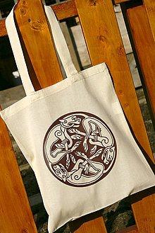 Nákupné tašky - bavlnená taška - keltský znak - 6394308_