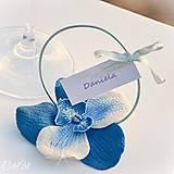 Orchideová elegancia - darčeky pre svadobných hostí, menovky