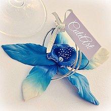 Darčeky pre svadobčanov - Orchideový vánok - darčeky pre svadobných hostí, menovky - 6395077_
