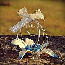 Darčeky pre svadobčanov - Biela orchidea - darčeky pre svadobčanov, menovky - 6395208_