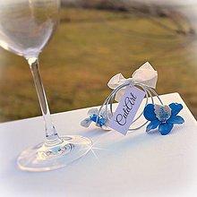 Darčeky pre svadobčanov - Orchideový párik - darčeky pre svadobčanov, menovky - 6395245_