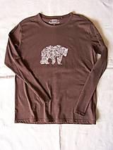Tričká - Pánske tričko s medveďom : Brumo - 6395897_