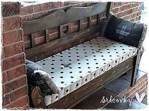 Úžitkový textil - Sedák na lavicu - 6397004_