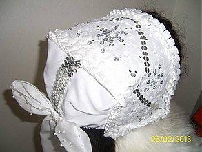 Iné doplnky - Svadobný čepček - 6395274_