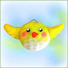 Náhrdelníky - Vtáčik Krídlohlavec - 6396219_
