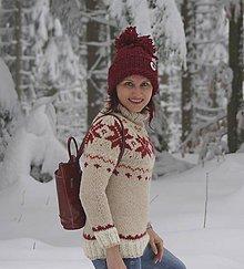 Svetre/Pulóvre - Nórsky pulóver do snehovej fujavice... - 6399242_
