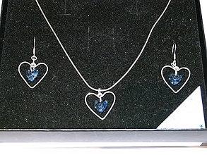Sady šperkov - Sada srdiečok v srdiečkach - 6398624_