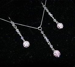 Sady šperkov - Ružová sada - 6399068_