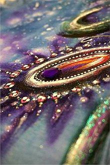 Tričká - fialové očko - 6399117_