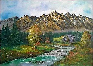 Obrazy - Jeseň na horách - 6398522_