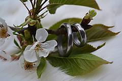 Prstene - Damaškové svadobné obrúčky - 6397864_