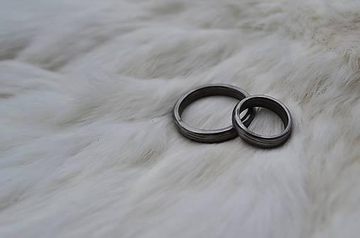 Damaškové svadobné obrúčky