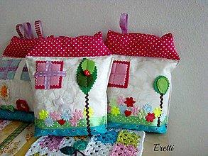 Textil - Domečky pro malé drobečky - 6397303_