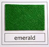 Textil - Rolka filc 180x30cm zelená - 6400060_