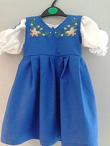 Detské oblečenie - Detské šaty s výšivkou - 6399654_