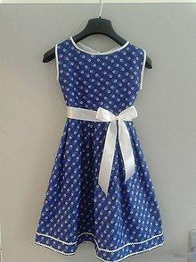 Detské oblečenie - Dievčenské folk šaty - 6399674_