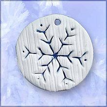 Náhrdelníky - Pani zimy - prívesok - 6397287_