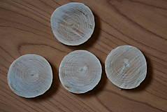 Bukové plátky bez kôry 4,5 cm