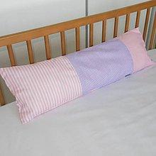 Úžitkový textil - Návliečka Lila Rose 70x20 - 6401004_