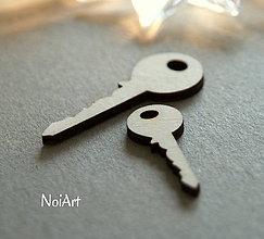 Polotovary - Drevená predloha kľúče - 6402403_