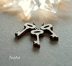 Polotovary - Drevená predloha kľúčik - 6402451_