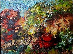 Obrazy - ležiaci v tráve - 6402740_