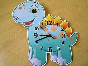 Hodiny - Detské nástenné hodiny- vektorová grafika - 6403946_
