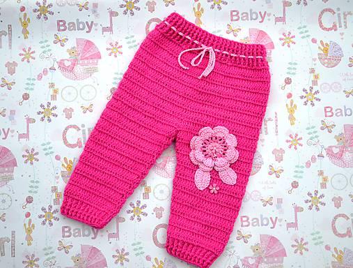 Háčkované nohavice   kitto - SAShE.sk - Handmade Detské oblečenie 5316a03759