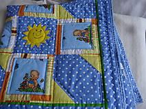 Úžitkový textil - Deka medvede - 6404511_