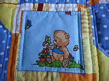 Úžitkový textil - Deka medvede - 6404515_