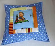 Textil - Vankúš medvedík - 6404638_
