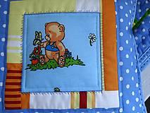 Textil - Vankúš medvedík - 6404640_