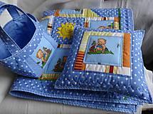 Textil - Vankúš medvedík - 6404810_